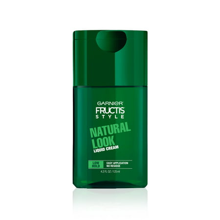 Garnier Fructis Style Natural Look Liquid Hair Cream for Men, No Drying Alcohol, 4.2