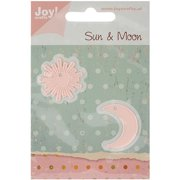 Joy! Crafts Cut & Emboss Die -sun & Moon