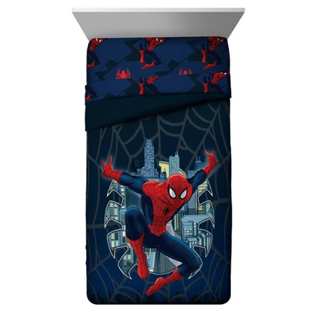 Reversible Single - Marvel Spiderman Single Reversible Comforter