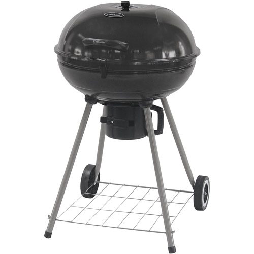UniFlame 360 sq in Kettle Charcoal Grill, Black