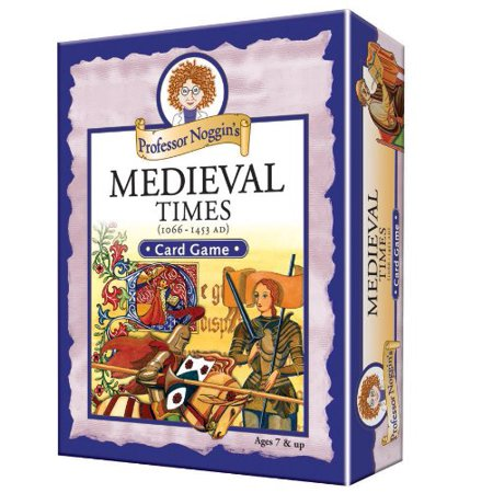 's Medieval Times - A Educational Trivia Based Card Game For Kids, Professor Noggins series of educational card games encourages kids to learn interesting.., By Professor Noggin (Professor Noggin)