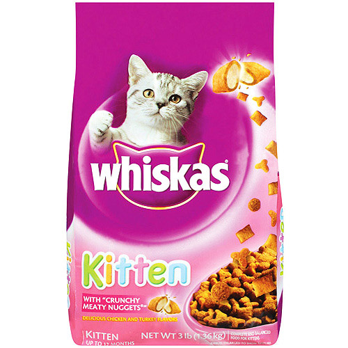 Whiskas Kitten 3 lb.