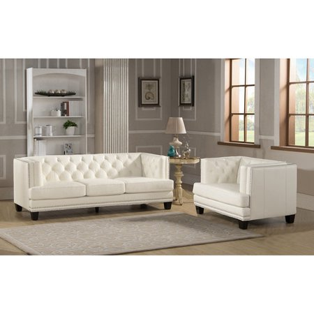 Amax newport 2 piece leather living room set for 7 piece living room set with tv