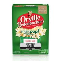 Orville Redenbachers 100 Calorie Kettle Corn Microwave Popcorn 1.16 Oz 12 Ct
