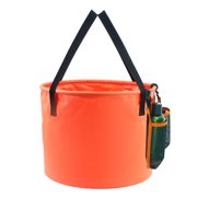 30L Collapsible Bucket Compact Portable Folding Water Container Multi-function Folding Bucket for Outdoor