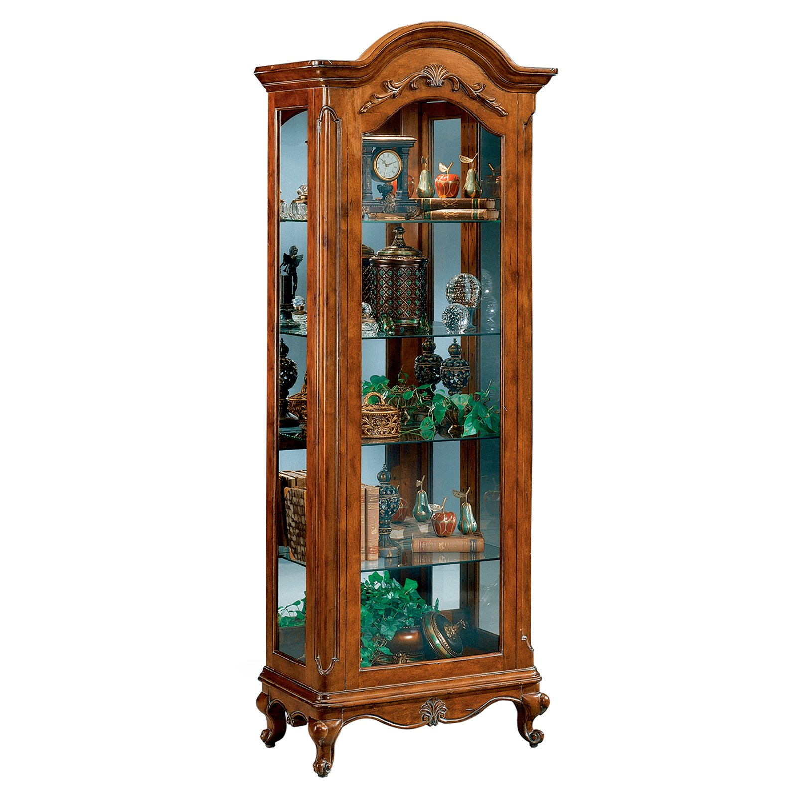 Philip Reinisch Company Renaissance Charlemagne Curio Cabinet