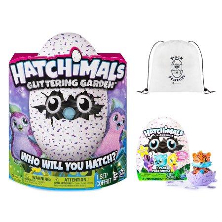 Hatchimals Glittering Garden Penguala   Colleggtibles Blind Bag  Season 1    Pack A Hatch Cinch Backpack Combo