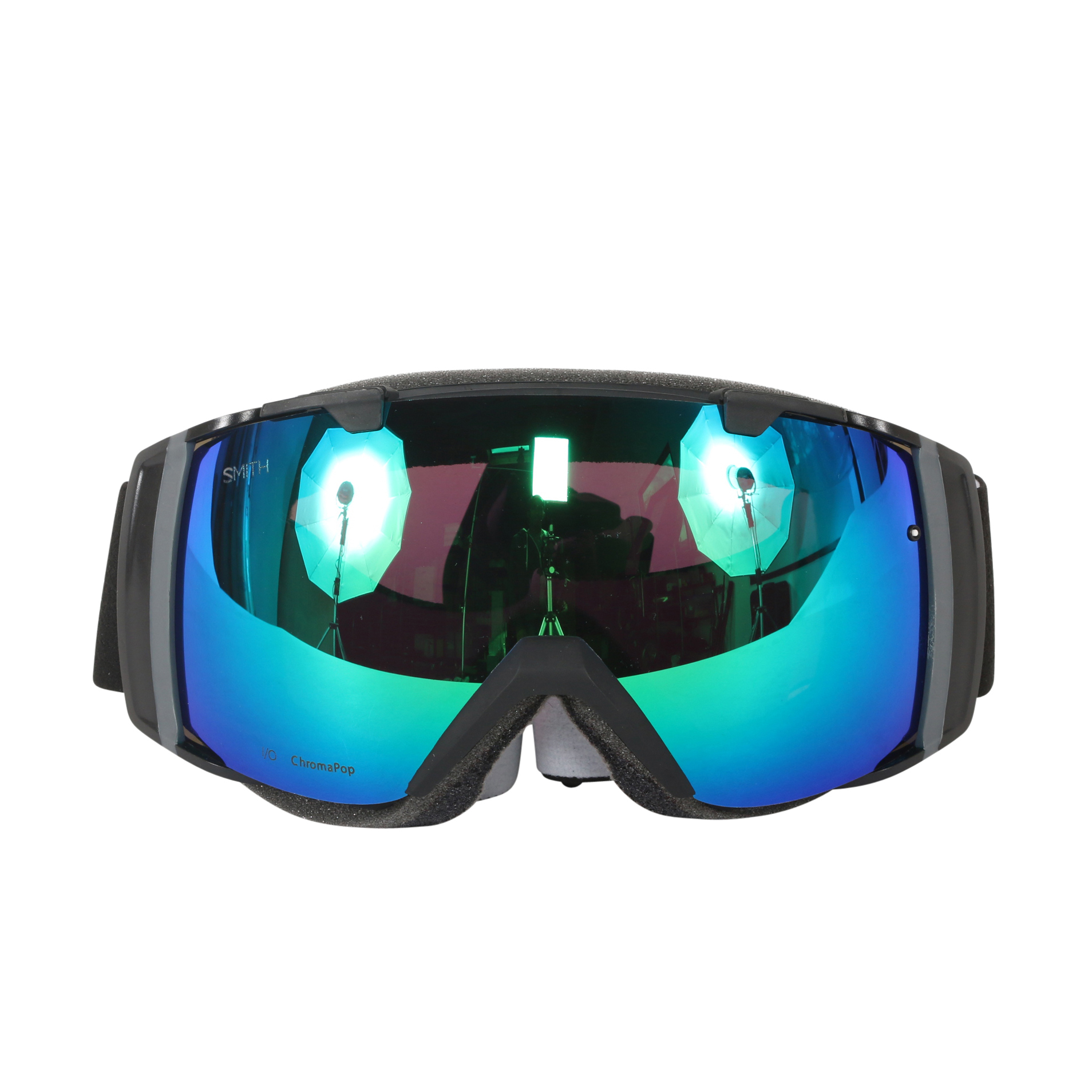 Smith Optics Black ChromaPop Sun I O Interchangeable Snow Goggles by Smith Optics