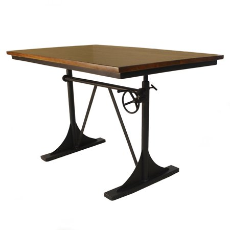 Brio Sit or Stand Adjustable Desk Elm Black