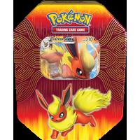 Pokemon Elemental Power Tin- Flareon- 1 Foil Card | Evolutions of Eevee
