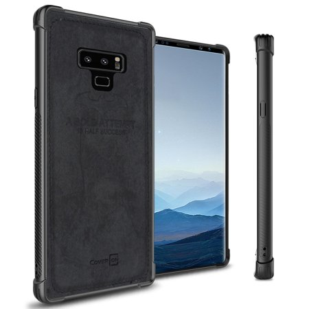 huge sale 83c73 54d3a CoverON Samsung Galaxy Note 9 Case, Woven Series Protective Hard Phone  Cover with Fabric Back
