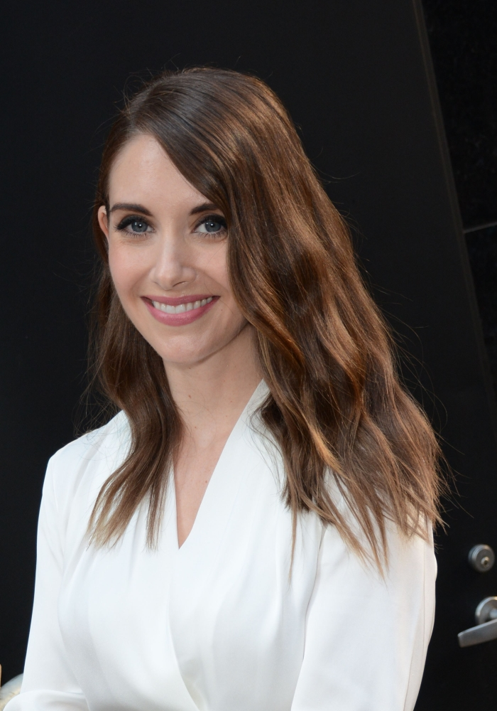 Alison Brie At Good Morning America Out And About For Celebrity Candids Tue Canvas Art (16... by Supplier Generic