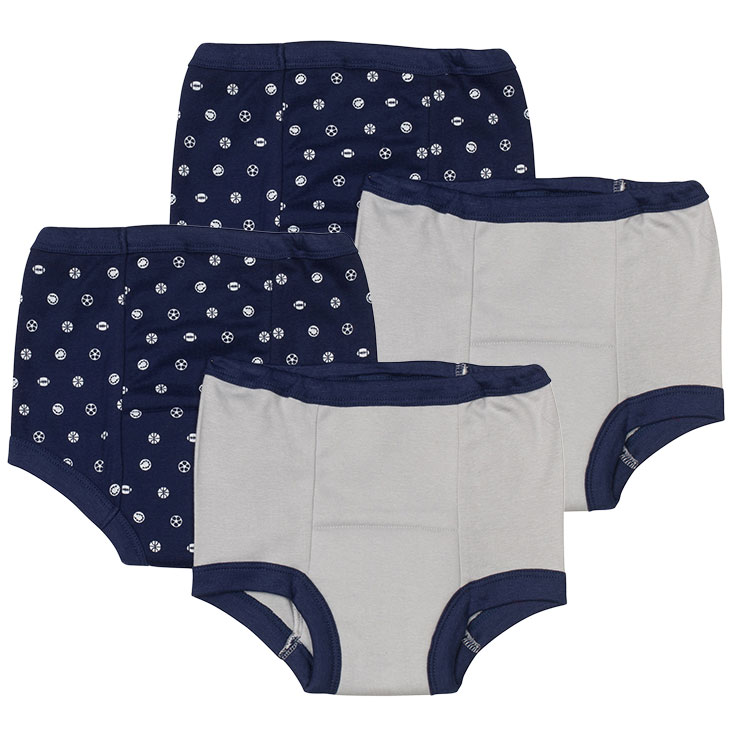 Blue Gerber Boys/' Training Pants 4 Pack