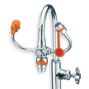 GUARDIAN EQUIPMENT Eyewash w/Diverter, Faucet Mount, 6-3/4 W G1201