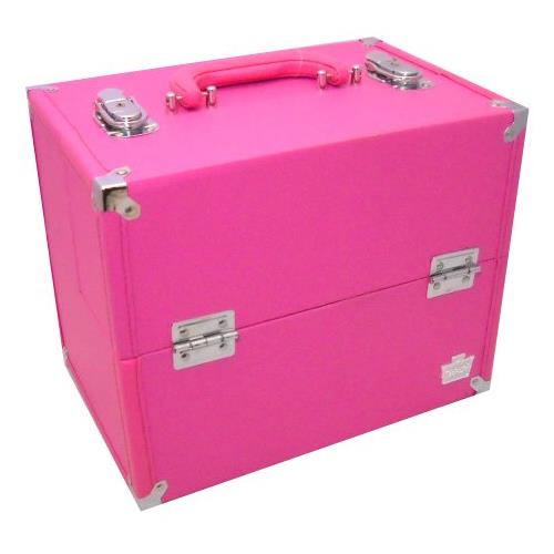 Caboodles 5878-76 Large Soulmate Make up Storage Train Case