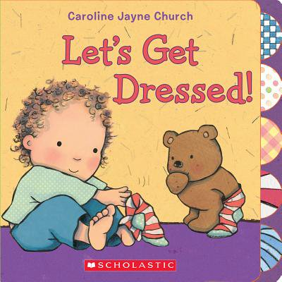 Lets Get Dressed (Board Book) - Popular Book Characters To Dress Up As