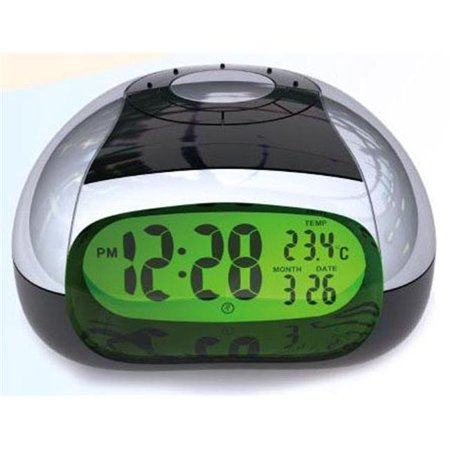 Sonnet Industries T-4429 LCD Talking Clock with Bright Back Light and Temperature