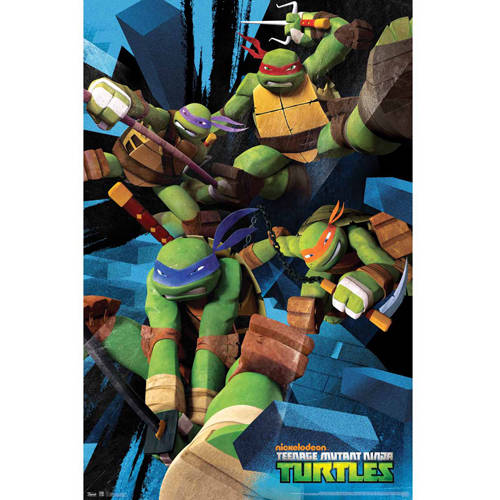 "Teenage Mutant Ninja Turtles Poster 22"" x 34"""