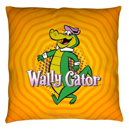 bc45890a96f06 Wally Gator Wally Gator Throw Pillow White 20X20 - Walmart.com