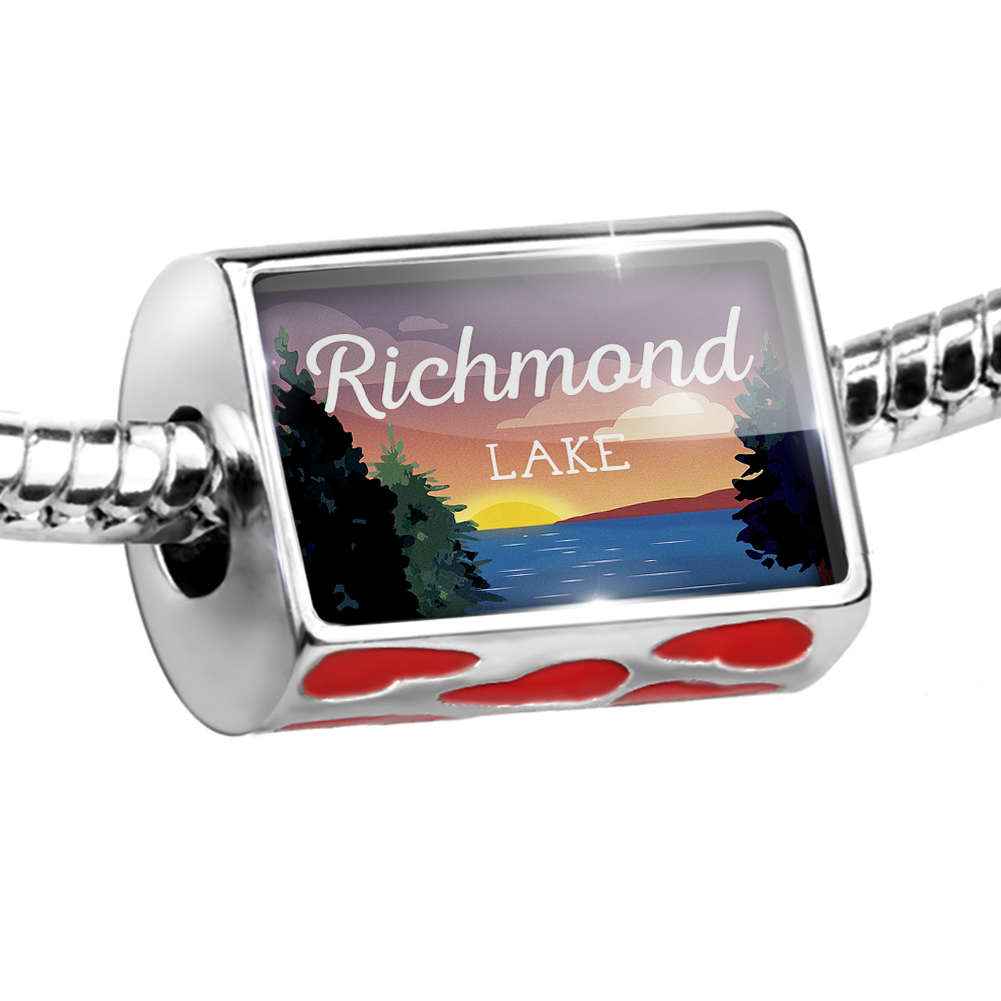 Bead Lake retro design Richmond Lake Charm Fits All European Bracelets