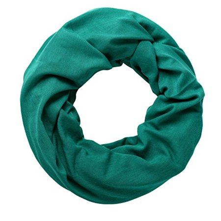 - Peach Couture Cotton Soft Touch Vivid Colors Infinity Loop Scarf Scarves Jersey Knit