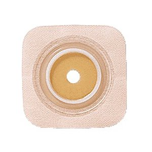 Tan Flexible Wafer Box (Sur-fit Natura Stomahesive Cut-to-fit Flexible Wafer 4 x 4 Flange 1-1/4 Tan )