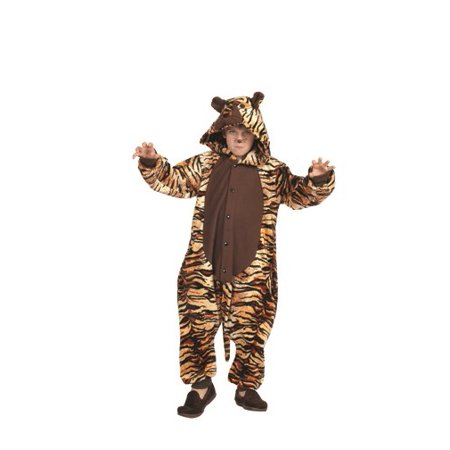 Taylor The Tiger Funsies Pajama Child - Tigger Running Costume
