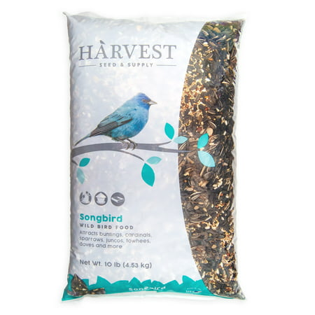 Harvest Seed & Supply Songbird Wild Bird Food, 10 (Exotic Bird Food)