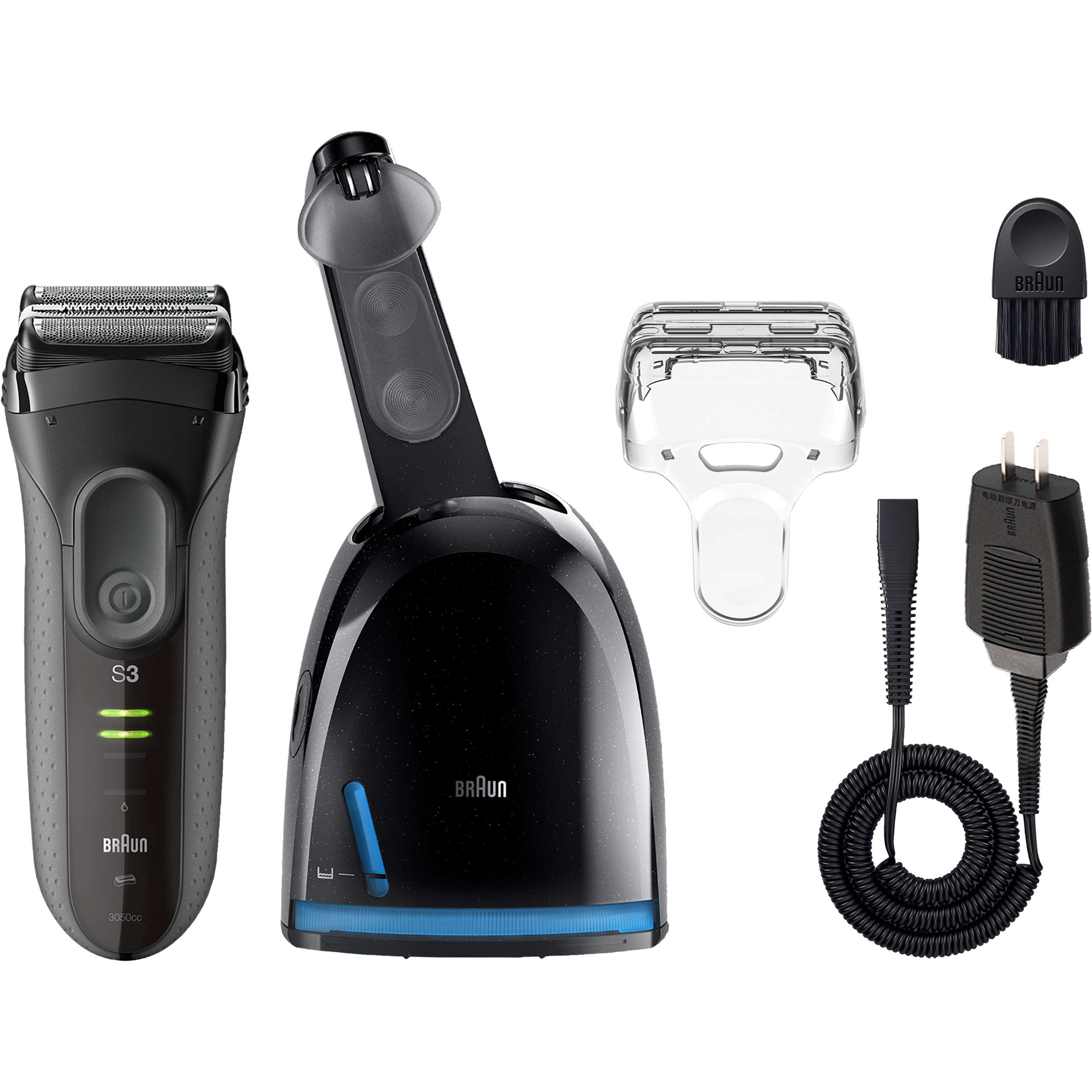 Braun Series 3 ProSkin 3050cc Electric Shaver for Men - 5 Pc