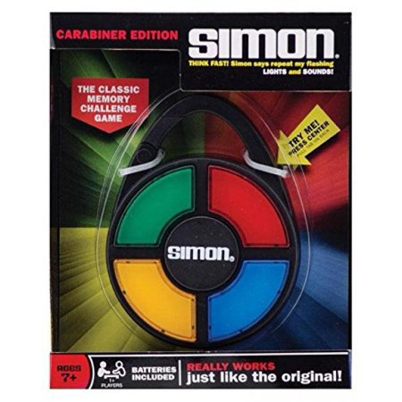 Simon Electronic Carabiner Hand-Held Memory Game