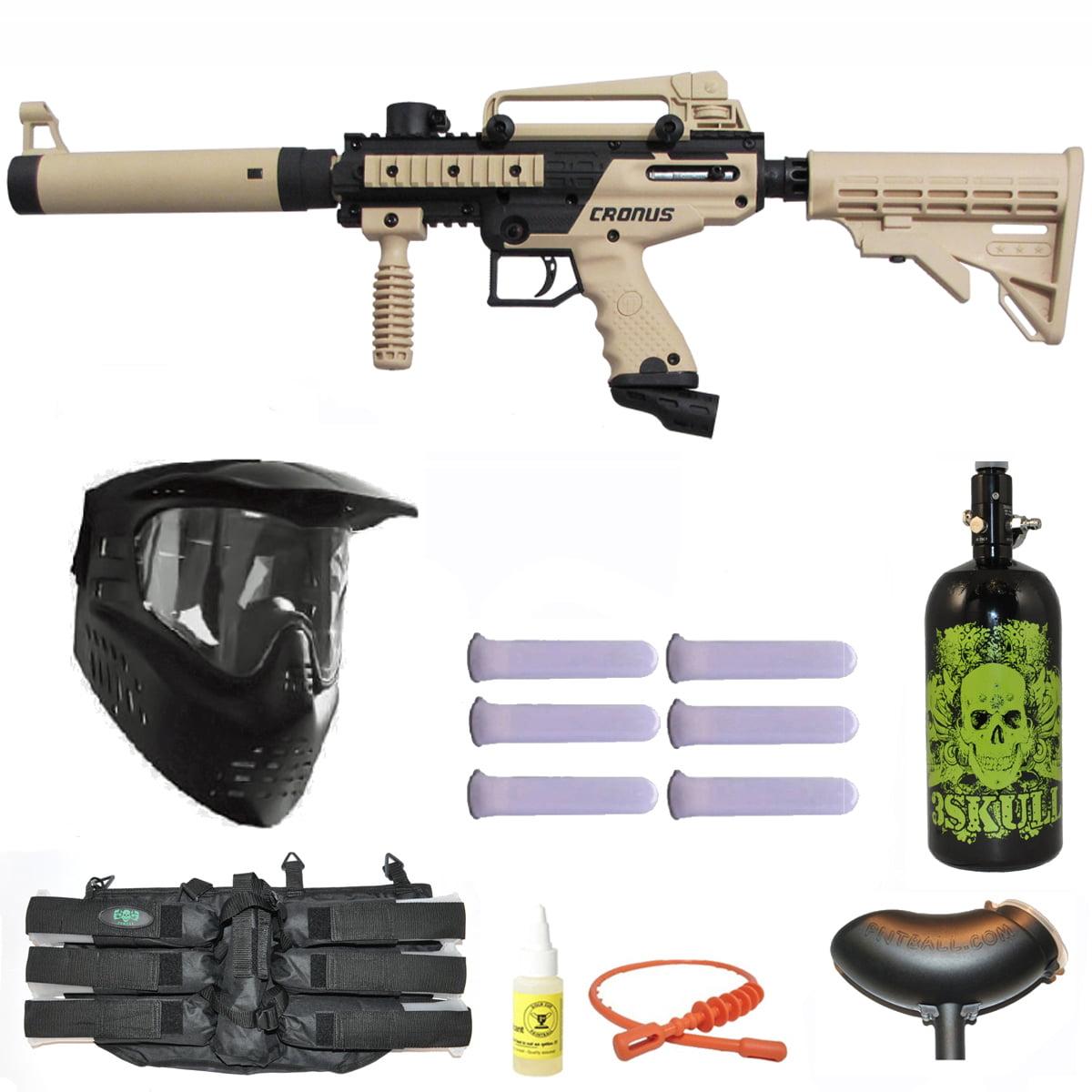 Tippmann Cronus Tactical Paintball Gun 3Skull N2 Mega Set by