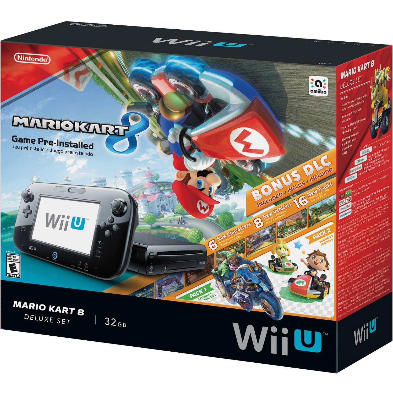 Nintendo Wii U Mario Kart 8 Console Deluxe Set