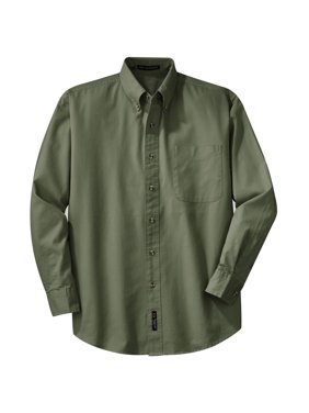 e652ecd64 Product Image Port Authority Men's Big And Tall Long Sleeve Twill Shirt