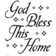 Wallhogs God Bless This Home Quote Wall Decal