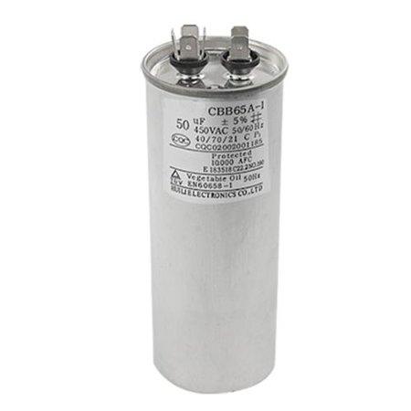 Air Conditioner CBB65A-1 50uF 50/60Hz Motor Run Capacitor