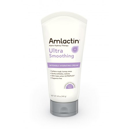 Amlactin Alpha-Hydroxy Therapy Ultra Smoothing Fragrance free Intensely Hydrating Cream, 4.9 Oz (Alpha Hydroxyl Acid)
