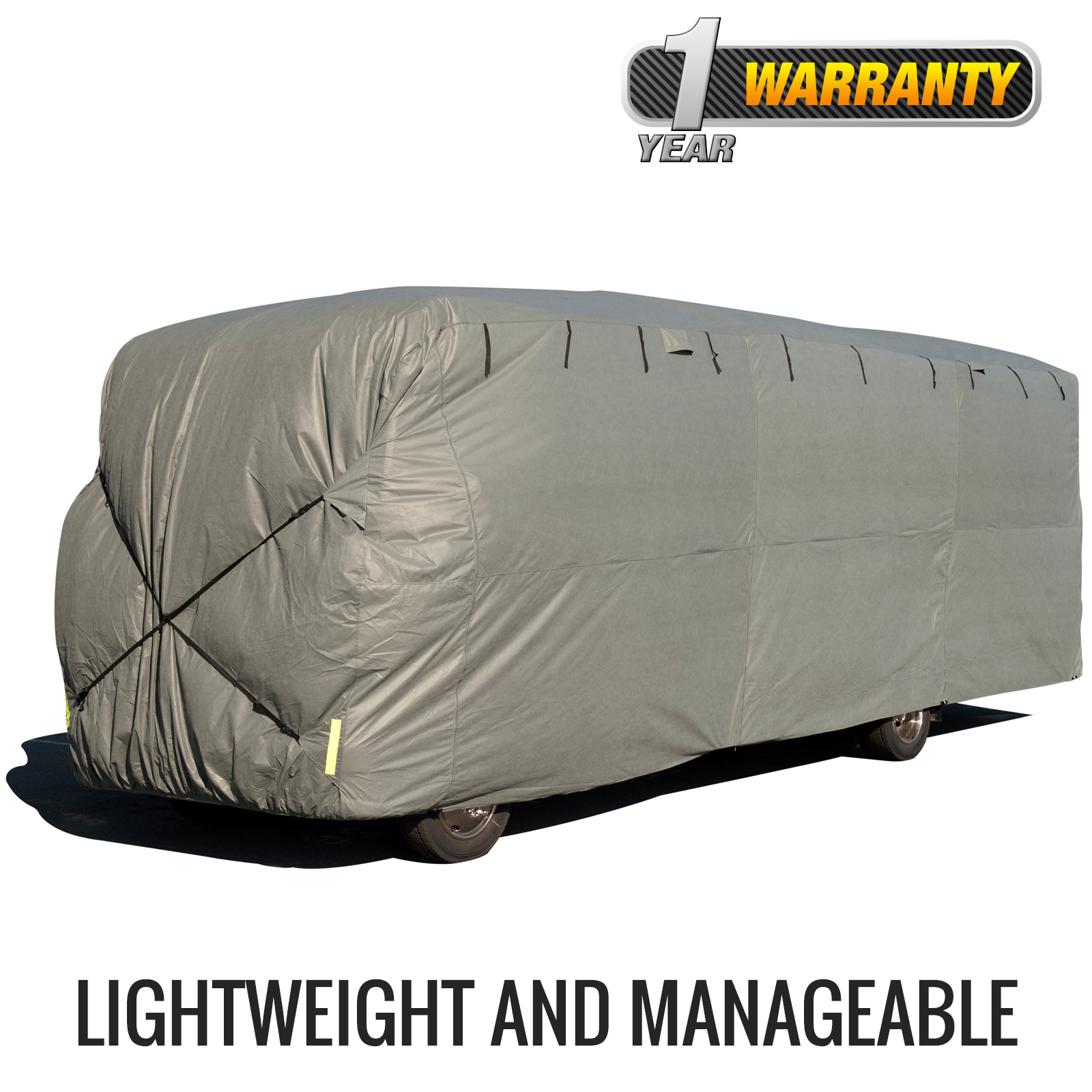 Budge Standard Class A RV Cover (Gray) Size A Up to 24' Long