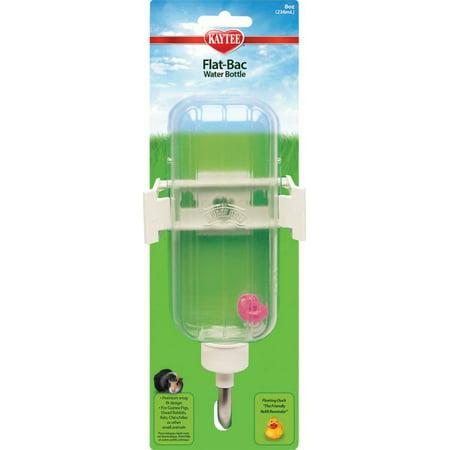FLAT BAC HAMSTER BOTTLE 8 OZ (Weather Hamster Bottle)