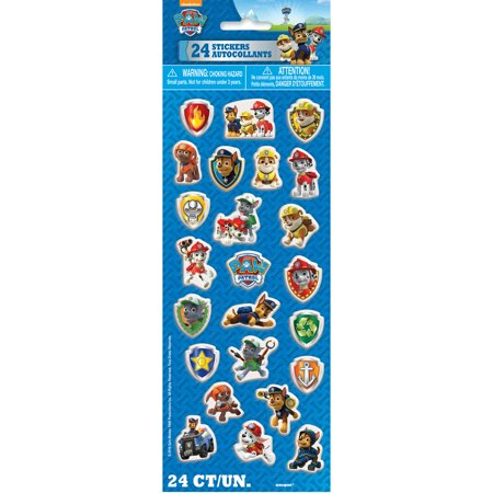 PAW Patrol Puffy Sticker Sheet, 1ct