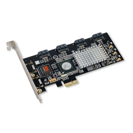SYBA Controller Card SY-PEX40008 4 Channels PCI-Express SerialATA 3Gb/s Retail