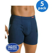 Hanes Men's ComfortSoft Waistband Boxer Brief 5-Pack