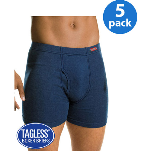 Hanes Men's 5 Pack Comfort Soft Waistband Boxer Brief