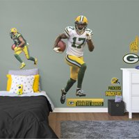 Fathead Davante Adams - Life-Size Officially Licensed NFL Removable Wall Decal
