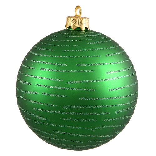 The Holiday Aisle 2 Piece Assorted Glitter Ball Ornament Set