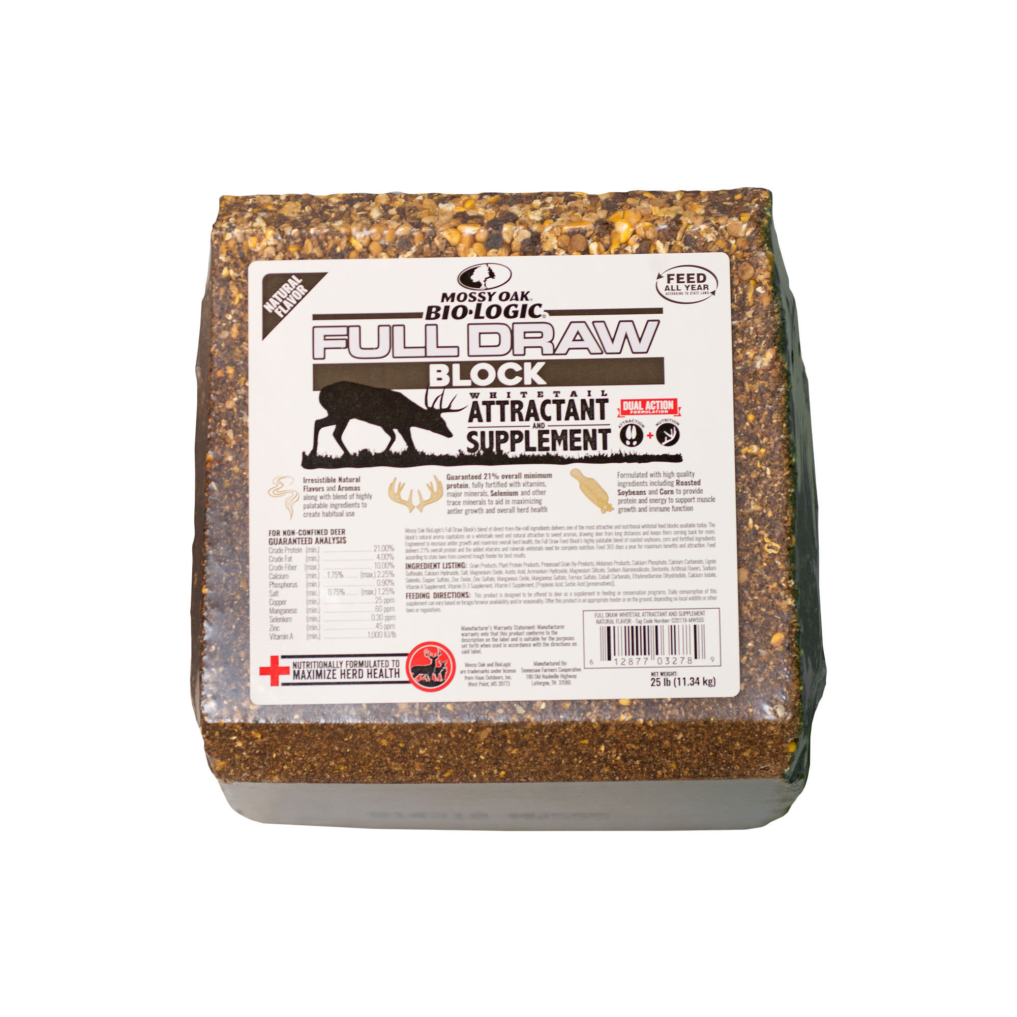 Mossy Oak BioLogic Full Draw Deer Attractant Block
