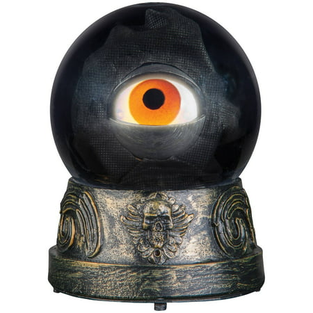 Animated Eyeball Crystal Ball Halloween Decoration - Animated Halloween Movies