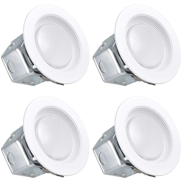 Luxrite 4 Inch Led Recessed Light With