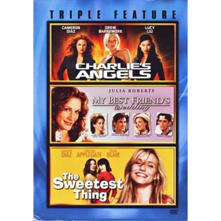 Triple Feature -- Charlie's Angels, My Best Friend's Wedding and Sweetest