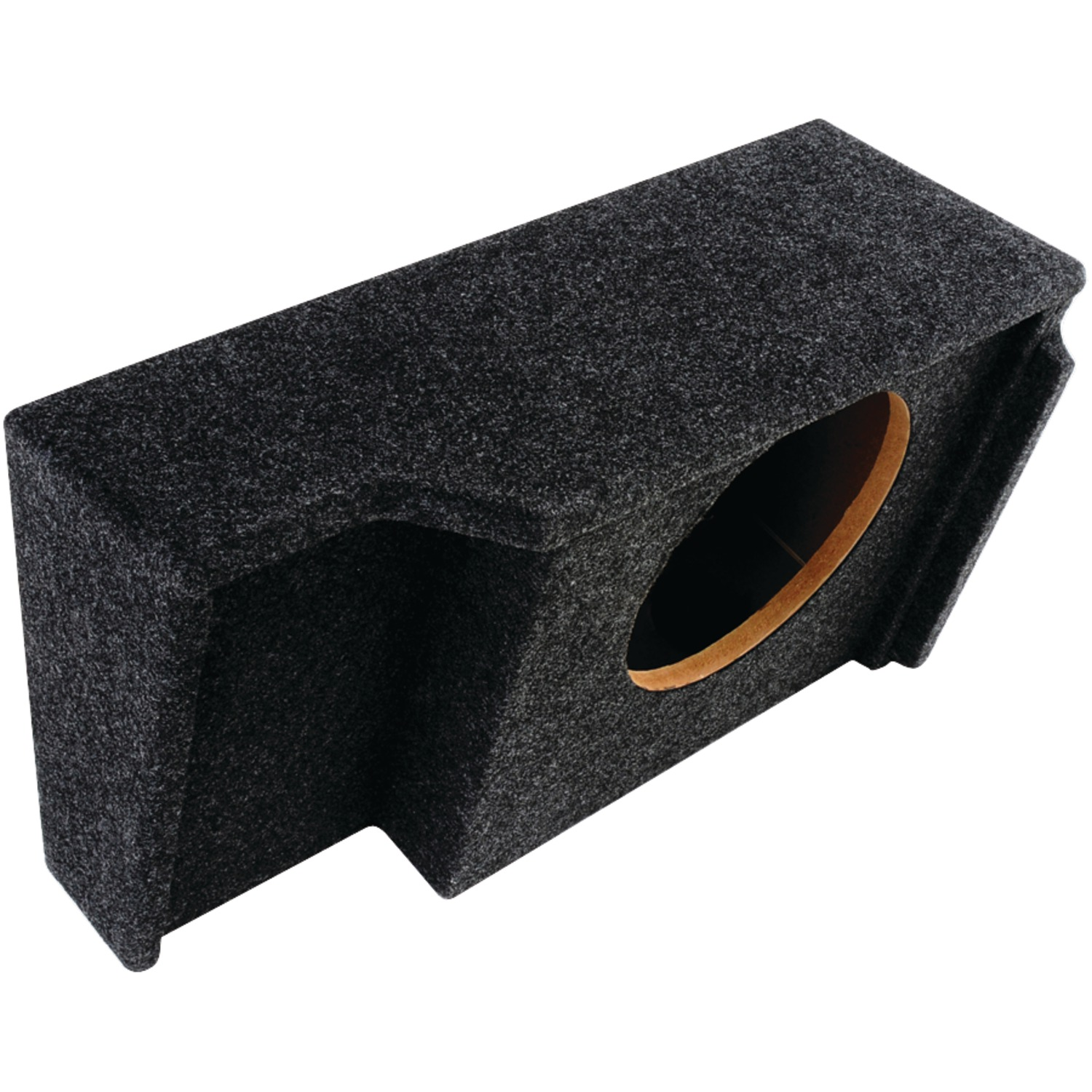 """Atrend A151-10CP BBox Series Subwoofer Box for GM Vehicles (10"""" Single Downfire, GM Ext Cab)"""