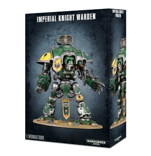 Imperial Knight Warden Warhammer 40,000 by GAMES WORKSHOP